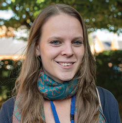 Christina Faulder, Postgraduate research student