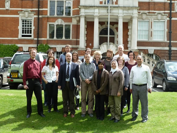 Members of the AFTER project meeting 9-11 May