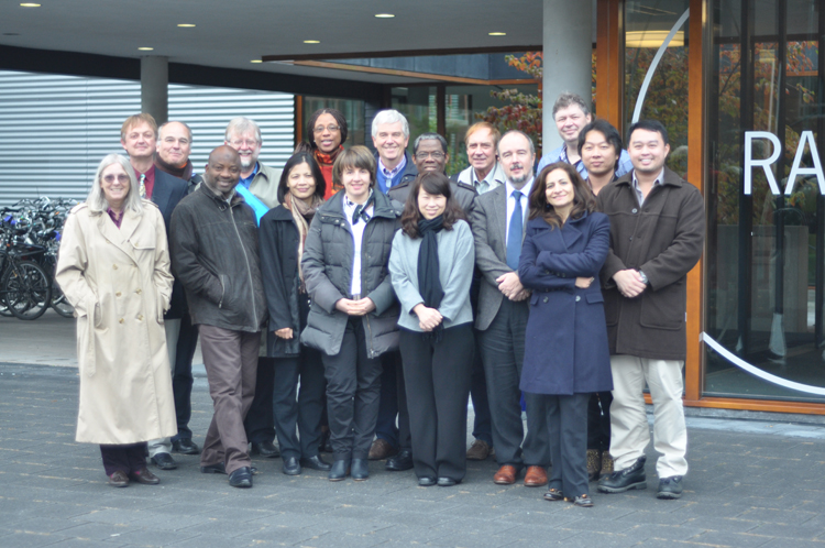 The Gratitude team at the midterm review meeting; Wageningen, the Netherlands