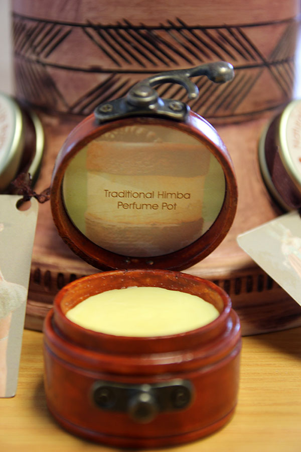 Wonderful new solid perfume from Namibian wild harvested commiphora wildii (Photo by: Dave Cole)