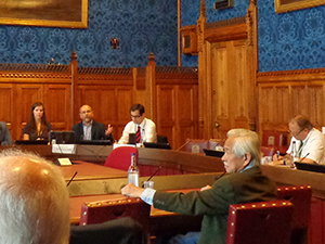 Bruno Tran, second from the left, during the APPG meeting