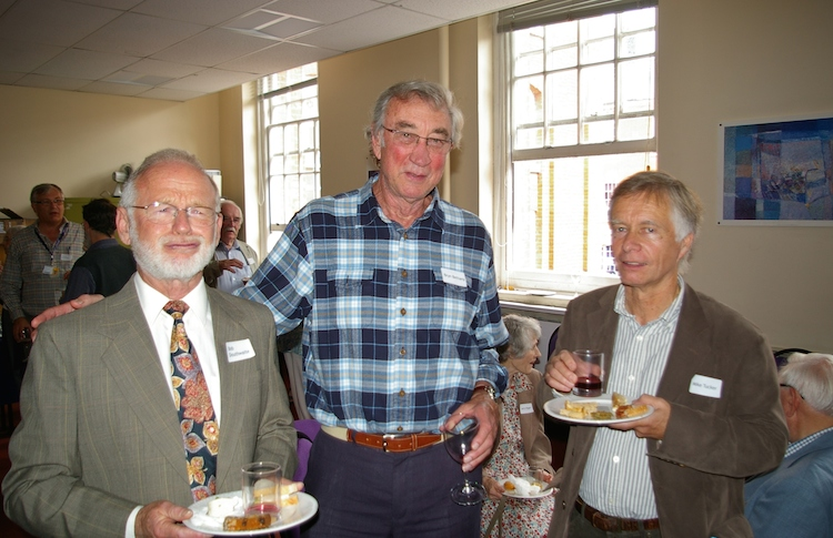 From left to right: Bob Douthwaite, Bryn Bettany and Mike Tucker. Photo: Bill Pag