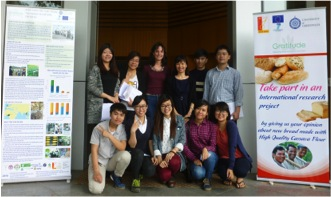 SBFT-HUST and NRI colleagues organise a consumer test at HUST, Hanoi