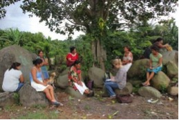 Focus group with women's group members, Guatemala - Lora Forsythe